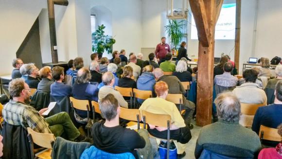 Jahrestreffen 2014 des LFA Fledermausschutz NRW in Hiddenhausen im Biologiezentrum Gut Bustedt